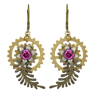 Prue Sarn Steampunk Earrings