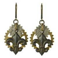 Steam Fleur Earrings