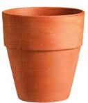 Wide Lip Clay Pot