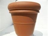 Heavy Rim Clay Pot