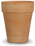 XL ROSE CLAY POT-10""