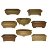 "BONSAI POT ASSORTMENT 6"" UNGLAZED"