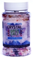 Himalayan Crystal Bathsalt Rose 500g