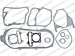 11pc Gasket Kit for Short Case, 150cc GY6 ATV, Scooter & Go Kart