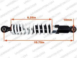 10.75in Adjustable Front Shock - White