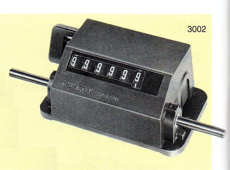 Trumeter 3002 Revolution Counter