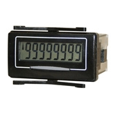Trumeter 7111  8 digit self powered electronic LCD counter.