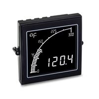 Trumeter APM-TEMP-ANO Thermocouple Meter, Negative LCD