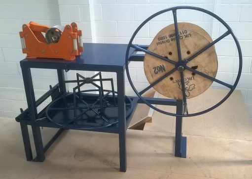 Refurbished Manual Cable Recoiling Machine