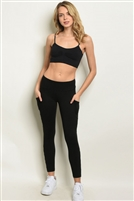 Mesh Pocketed Leggings
