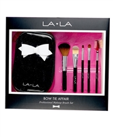 ***OUT OF STOCK*** La La Bow Tie Affair Professional Makeup 5-Piece Brush Set