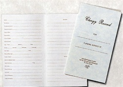 CLERGY RECORD FOLDER