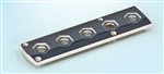 BIER PIN STORAGE PLATE 5-HOLE