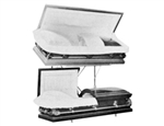 DOUBLE CASKET DISPLAY RACK