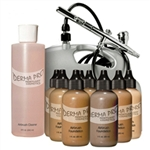 DERMA-PRO COMPLETE AIRBRUSH SYSTEM