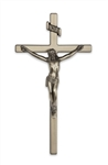 "EXTERIOR 12"" PLATED CRUCIFIX"