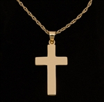Pendant 14K Gold Cross