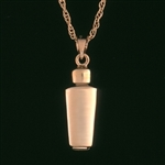 Pendant 14K Gold Mini Urn