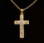 Pendant 14K Gold Crucifix