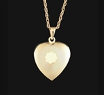 Pendant 14K Gold Heart