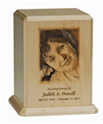PREMIER ADULT CUSTOM PHOTO URN