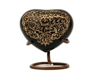 RADIANCE CREMATION URN HEART KEEPSAKE