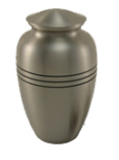 CLASSIC PEWTER CREMATION URN  - ADULT
