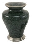 GLENWOOD GRAY MARBLE CREMATION URN-ADULT