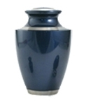 TRINITY MOONLIGHT BLUE CREMATION URN  - ADULT