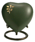 ARIA TREE OF LIFE CREMATION URN HEART