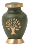 ARIA TREE OF LIFE CREMATION URN KEEPSAKE