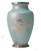 ARIA DOLPHIN CREMATION URN  - ADULT