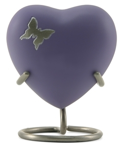 ARIA BUTTERFLY CREMATION URN HEART