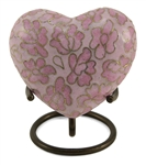 ESSENCE ROSE CLOISONNE HEART KEEPSAKE