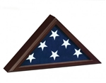 CAPITOL MEMORIAL FLAG CASE FOR 3' X 5' FLAGS