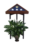 FLAG CASE DISPLAY STAND