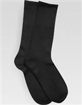MENS NYLON STRETCH SOCKS-BLACK