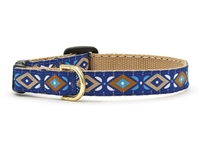 Unique Cat Collar Aztec Blue SaltyPaws.com