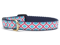 Unique Cat Collar Blue and Pink SaltyPaws.com