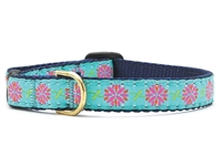 Unique Cat Collar Dahlia Flowers SaltyPaws.com