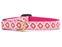Unique Cat Collar Pink Crush SaltyPaws.com