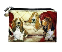 Basset Hound Coin Purse available at SaltyPaws.com