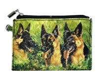German Shepherd Coin Purse Available at SaltyPaws.com