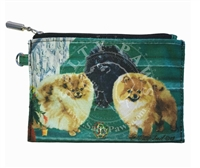 Pomeranian Coin Purse Available At SaltyPaws.com