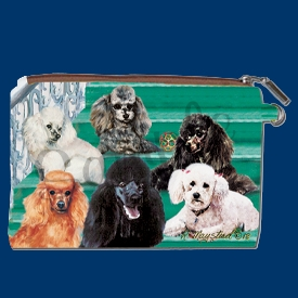 Poodle Coin Purse Available At SaltyPaws.com
