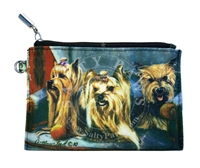Yorkshire Terrier Coin Purse Available At SaltyPaws.com