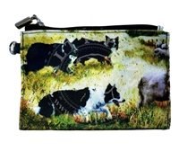 Border Collie Coin Purse Available At SaltyPaws.com