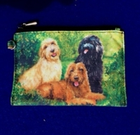 Labradoodle Coin Purse Available At SaltyPaws.com