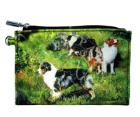 Australian Shepherd Coin Purse Available At SaltyPaws.com