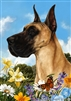 Great Dane Small Decorative Garden Flag